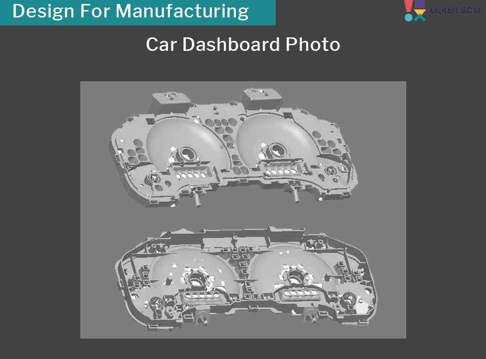 LKKER SCM Mold Design Mold Making 3D Design For Manufacturing Car Dashboard Case Study Product Development Supply Chain Management